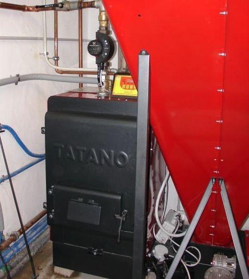 Impianto termico con caldaia a legna fuoco e legna autos for Termocucina laminox