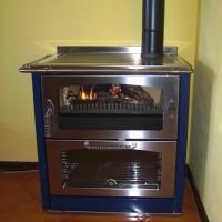 Electro biokalor caldaie a legna e biomassa stufe a for Stufe a legna con forno e piano cottura